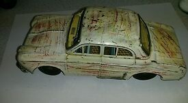 tin toy vintage made tin of renault dauphine