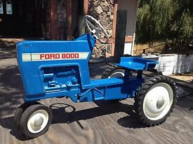 blue ford 8000 tractor model f 68 the co