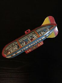 vintage antique sky ranger zeppelin litho