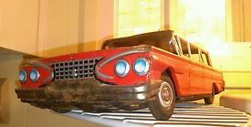 look large tin friction 1961 plymouth