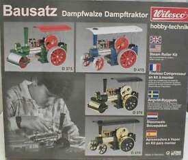 d375 toy steam engine kit of roller old