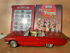 antique tin toy ichiko ford thunderbird