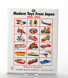 antique tin toy book masudaya modern toys