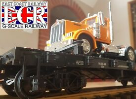 g scale 45mm gauge flatbed railway flat bed
