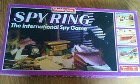 vintage spy ring board game by 1986