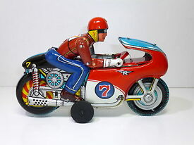 vintage tin tn 1960 s honda race motorcycle