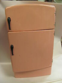 estate fresh retro 1950s pink refrigerator