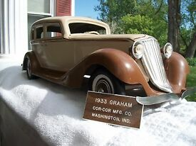 vintage cor cor 1933 graham paige sedan with