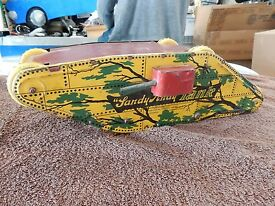 sandy andy tank windup toy from the 1930 s