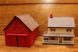 farm country 1 64 scale red barn house with