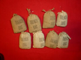 8 barclay or toy soldier trench bags