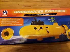 remote control underwater explorer yellow