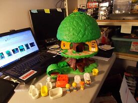 vintage 1975 kenner tree tots tree house and