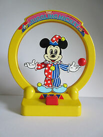 vintage tomy juggling mickey mouse by walt