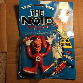 dominos pizza 1988 bendable poseable noid