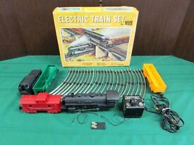 marx vintage electric model toy train set