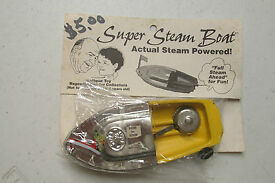reproduction tin super steam boat with