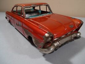 vintage bandai taunus 17m tin toy car