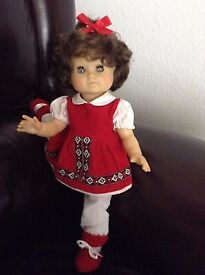 15 vintage doll blue sleep eyes schildkrot