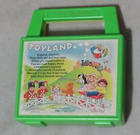 vintage 1983 fisher price wind up toyland