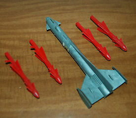 vintage 1960 s fireball xl5 rocket and 4