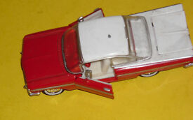 1959 chevrolet red white hardtop road champs