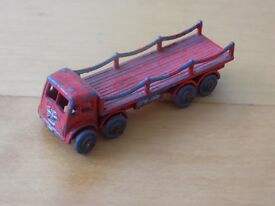 benbros foden red chain lorry