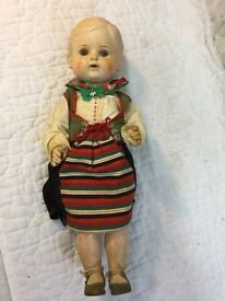 vintage doll turtle trademark 36 41 w best