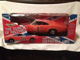 ertl 1969 dodge charger race day general lee