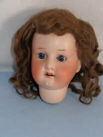 antique germany bisque doll head only