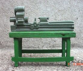 diecast bench model 1 24 scale g scale