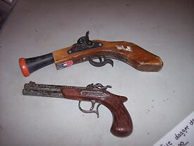 vintage parris toy replica pirate pistol