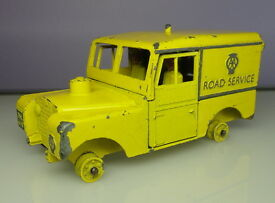 benbros aa road service land rover unboxed