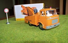 rare dinky toys berliet gak tow truck sealed