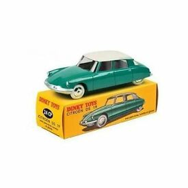 rare dinky toys ds 19 green