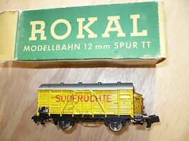 tt train germany 2 axle freight box car