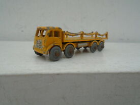 vintage foden chain lorry in yellow nice