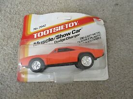 tootsietoy muscle show car dodge charger