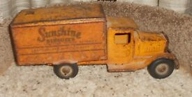 vintage toy advertising metalcraft sunshine