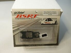 vintage bsrt tomy super g chassis with body