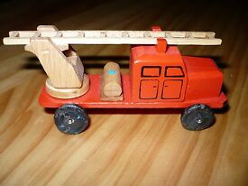 wood fire vehicle ladder chief model truck s