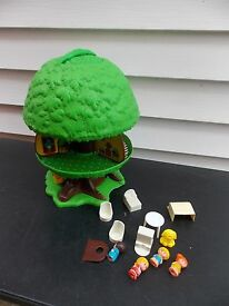 1976 vintage kenner tree tots play family