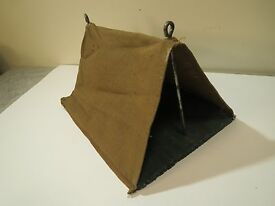 lead soldier play set canvas tent