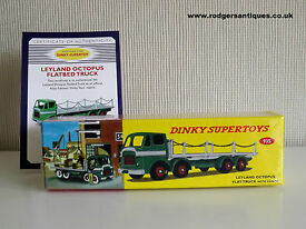 editions 935 leyland octopus flat truck with