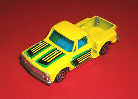 vintage zee p338 yellow chevy stepside