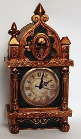 prototype skeleton raven monster clock