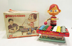 pinocchio 1962 videocraft battery operated