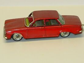 vintage tin japan bandai corvair toy car
