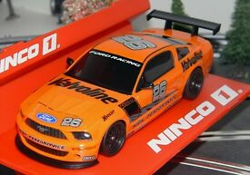 ninco 55032 ford mustang slot car 1 32 for