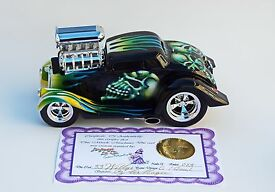 hot rod car 1 18 33 willy cool goul ooak by